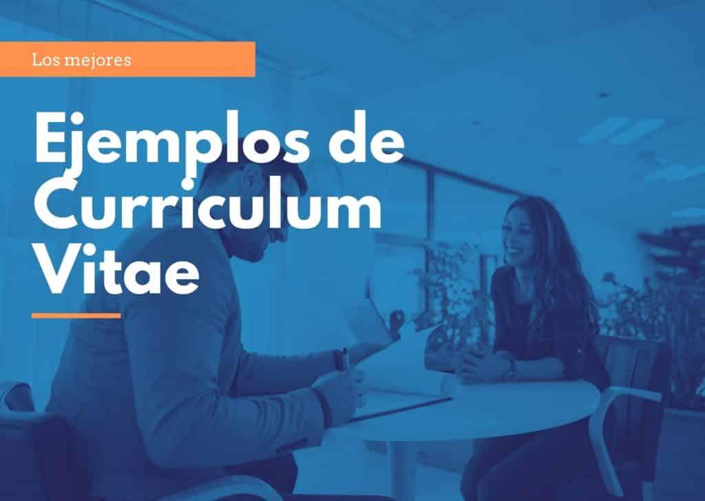 Ejemplos Curriculum Vitae